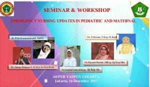 Akper Terbaik di Jakarta Menelenggarakan Seminar dan Workshop